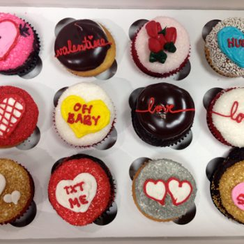 Valentines Day Cupcakes - Hearts