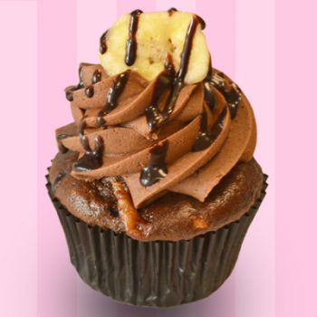 Banana Fudge Cupcake