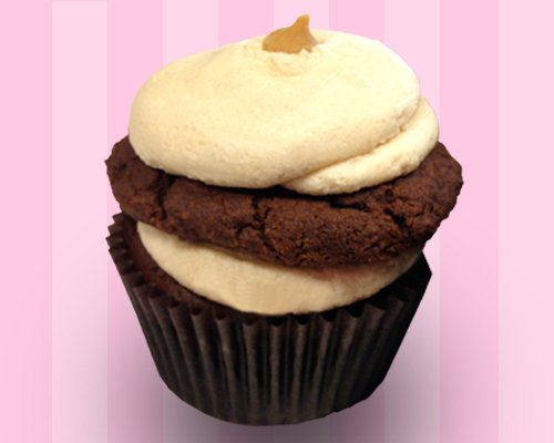 Chocolate Peanut Butter Cookie Cupcake – Classy Girl Cupcakes