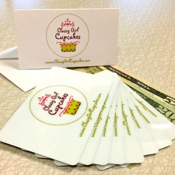 Classy Girl Cupcakes Gift Cards
