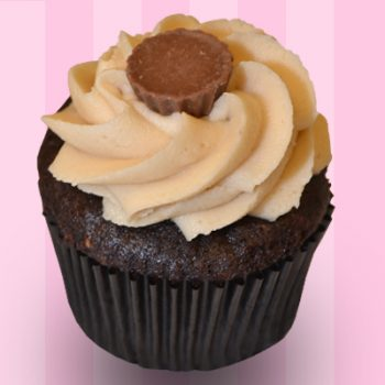 Peanut Butter Delight Cupcake