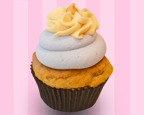 peanut butter jelly cupcake peanut butter cupcake topped with layers ...