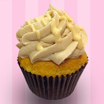 Salted Caramel Vanilla Cupcake