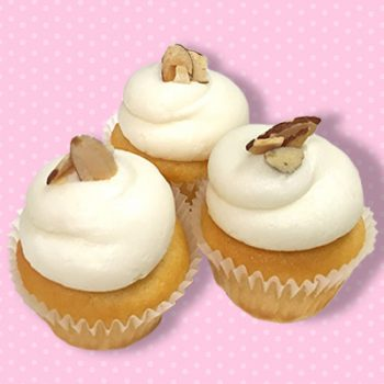 Almond Pound Cake Mini Cupcake
