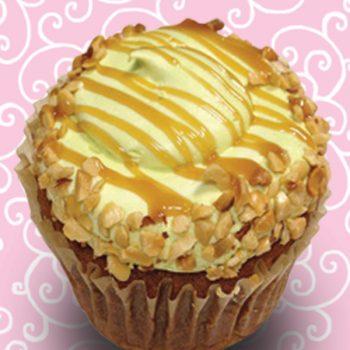 Caramel Apple Jumbo Filled Cupcake