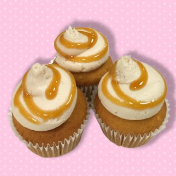 Caramel Apple Mini Cupcake