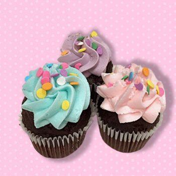 Chocolate Birthday Cake Mini Cupcake
