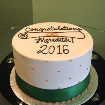 Congratulations Layer Cake
