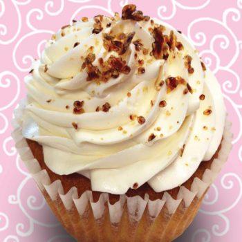 Creme Brulee Jumbo Filled Cupcake