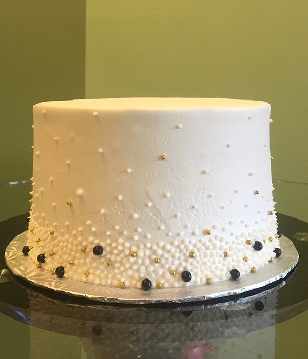 Giselle Layer Cake - Black & Gold