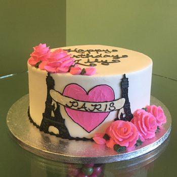 Kat Tattoo Cake - Paris