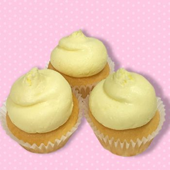 Lemon Pound Mini Cupcake