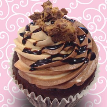 Peanut Butter Cup Jumbo Filled Cupcake