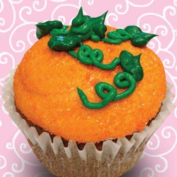 Pumpkin Spice Jumbo Filled Cupcake