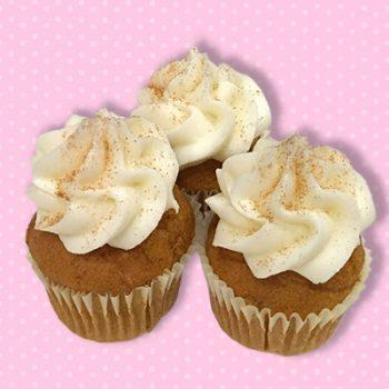 Pumpkin Spice Mini Cupcake
