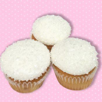 Root Beer Float Mini Cupcake