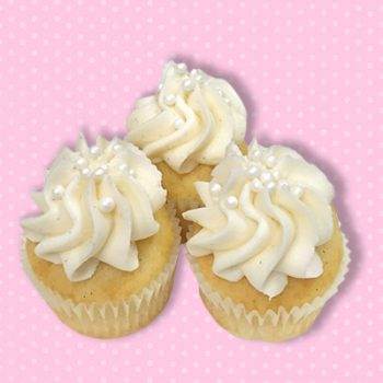 Vanilla Bean Mini Cupcake