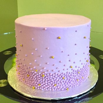 Giselle Layer Cake - Purple & Gold