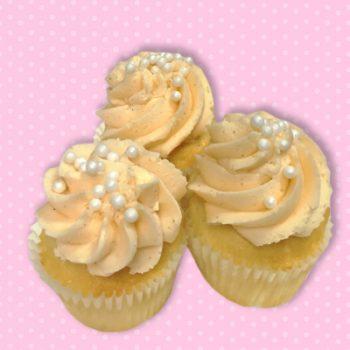 Mimosa Mini Cupcakes