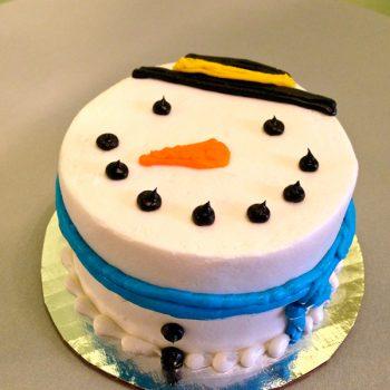 Snowman Layer Cake
