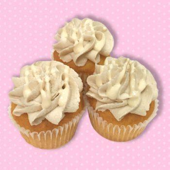 Vanilla Salted Caramel Mini Cupcakes