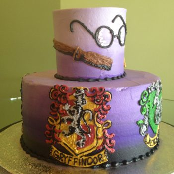 Harry Potter Tiered Cake