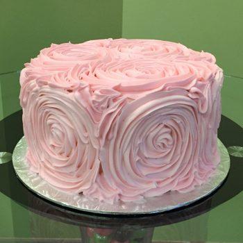 Giant Rosette Layer Cake