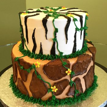 Jungle Tiered Cake