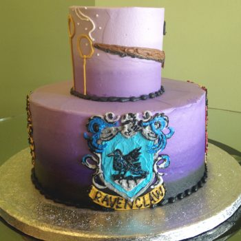 Wizard Tiered Cake - Left View