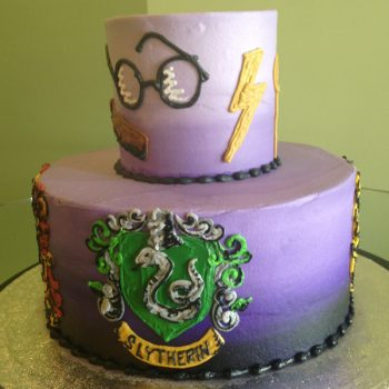 Wizard Tiered Cake - Right View