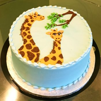 Giraffe Layer Cake
