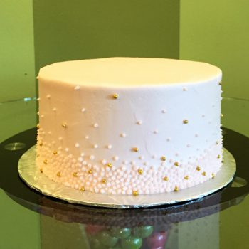 Giselle Layer Cake - Blush Pink & Gold