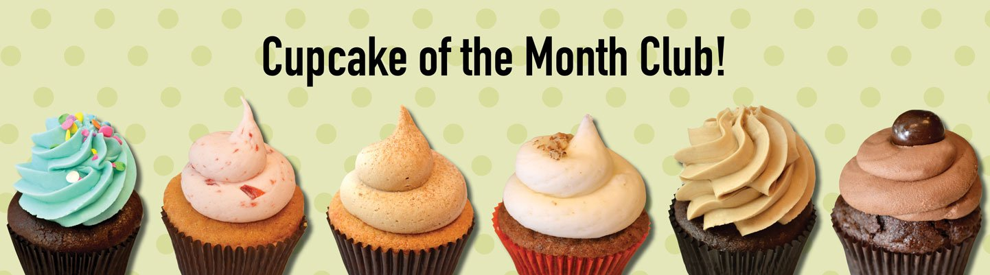 Website Banner - Cupcake of the Month Club
