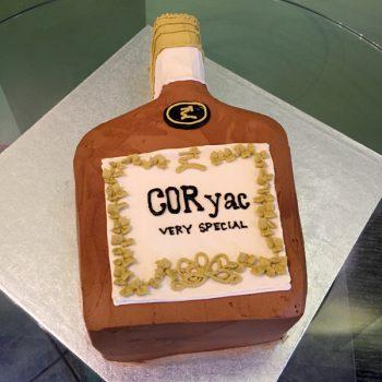 Bottle Shaped Cake
