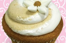 Fluffernutter Jumbo Filled Cupcake
