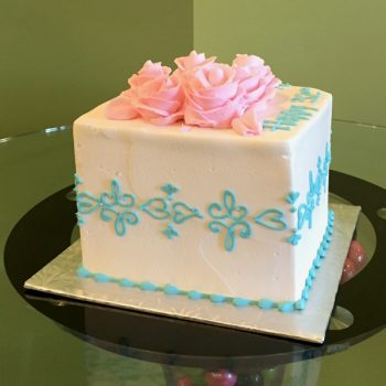 Lace Band Layer Cake - Blue