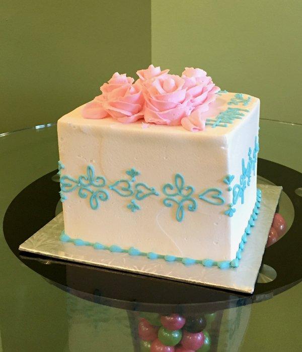 Lace Band Layer Cake - Blue
