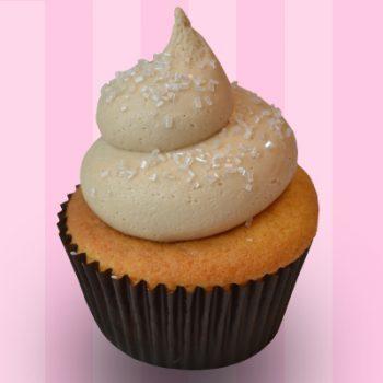 Maple Bock Cupcake