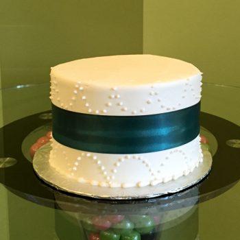 Ribbon Chandelier Layer Cake - Black