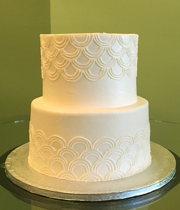 Art Deco Tiered Cake Classy Girl Cupcakes