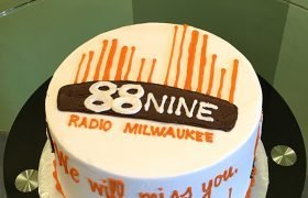 Company Logo Layer Cake - 88.9 Radio Milwaukee