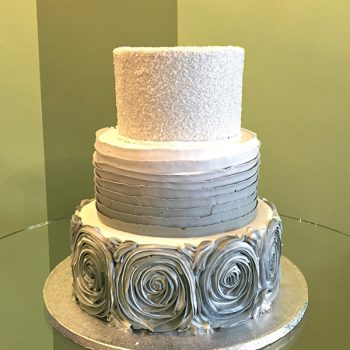 Lisette Wedding Cake - Grey