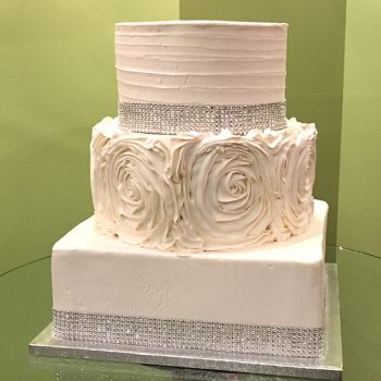 Lisette Wedding Cake - Square