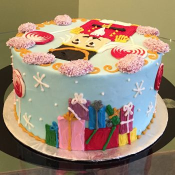 Nutcracker Layer Cake - Back