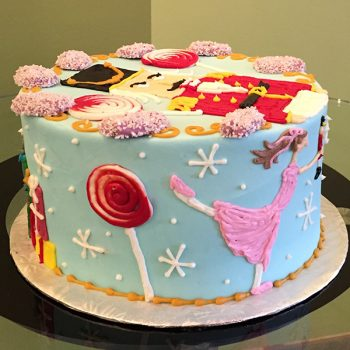 Nutcracker Layer Cake - Side