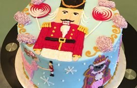 Nutcracker Layer Cake