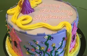 Rapunzel Layer Cake