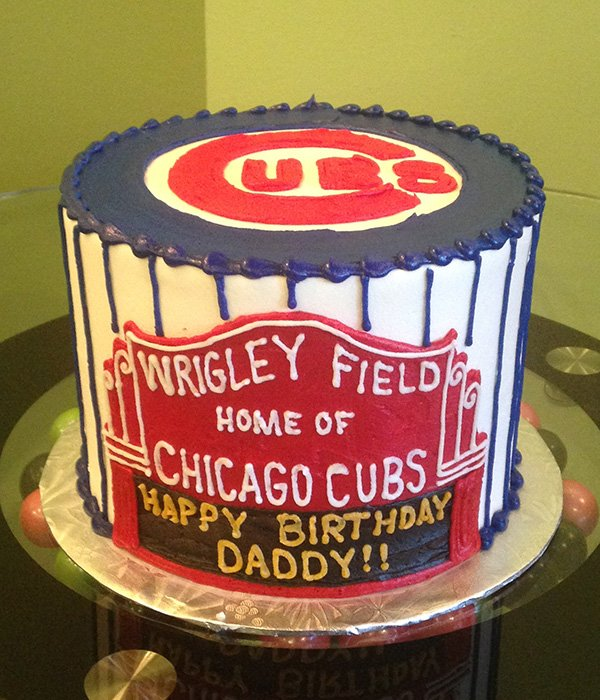 Sports Team Layer Cake - Cubs