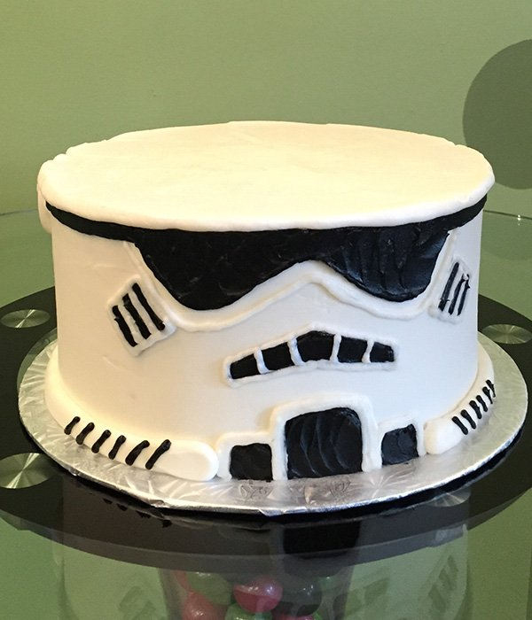 Storm Trooper Layer Cake Classy Girl Cupcakes