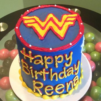 Wonder Woman Layer Cake